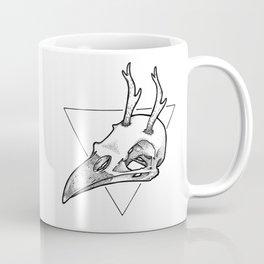 Antler Bird Coffee Mug
