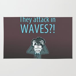 Guardian Ghost- THEY COME IN WAVES Rug
