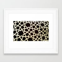 morocco Framed Art Prints featuring Morocco by Mirabella Market