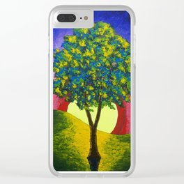 The Maple Tree Clear iPhone Case