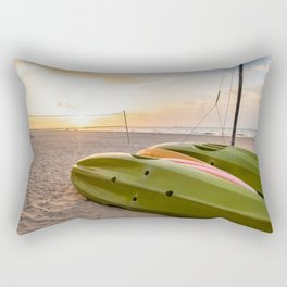 Peaceful Mornings Rectangular Pillow