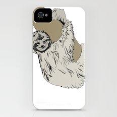 Sloth iPhone (4, 4s) Slim Case