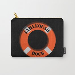 Tahlequah Black Carry-All Pouch