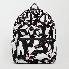 meanwhile penguins II Backpack