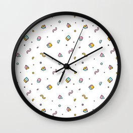 I love the 90s Wall Clock