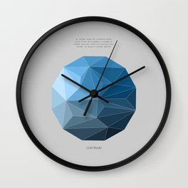 Continuum grey Wall Clock