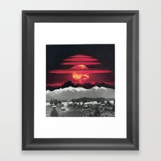 Apocalypse Then And Now Framed Art Print