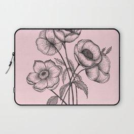Palid Flowers  Laptop Sleeve