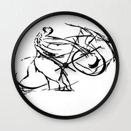 Jujitsu Wall Clock