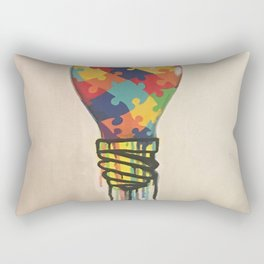 The bulb Rectangular Pillow
