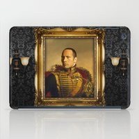 allyson johnson iPad Cases featuring Dwayne (The Rock) Johnson - replaceface by replaceface