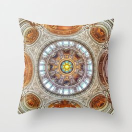 Cathedral Dome Ceiling, Berlin Throw Pillow