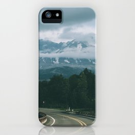 Road to Mount Saint Helens II iPhone Case