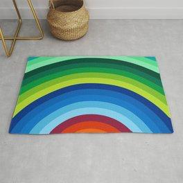 Colorful Circle Rug
