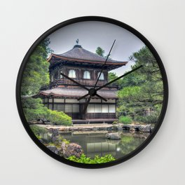 Ginkaku-ji Temple Kyoto Japan Wall Clock
