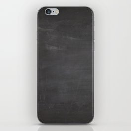 Chalkboard iPhone Skin