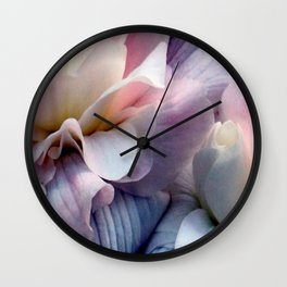 Just Takes Two...Beautiful Begonias Wall Clock