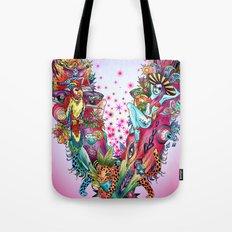 V - pink Tote Bag