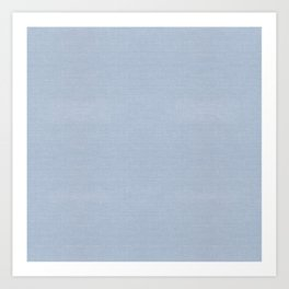 501 FADED BLUE DENIM CHAMBRAY Art Print