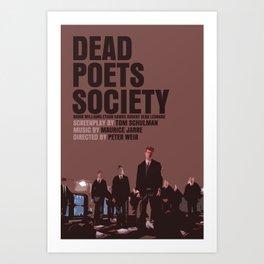 Dead Poets Society Movie Poster Art Print