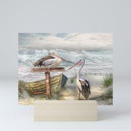 Pelican Point Mini Art Print