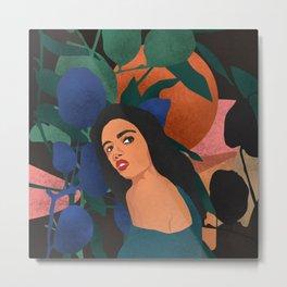 Natural woman #art print#society6 Metal Print