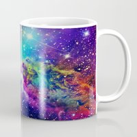 nebula Mugs featuring Fox Nebula by Starstuff