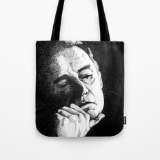 Man In Black JCII Pointillism Tote Bag