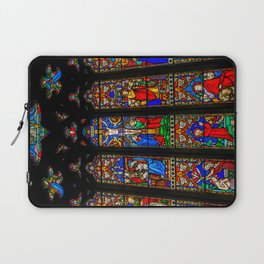INRI Stained Glass Laptop Sleeve