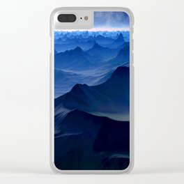 Peaks BG Clear iPhone Case