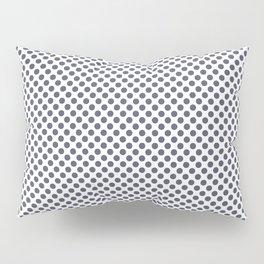 Nightshadow Blue Polka Dots Pillow Sham
