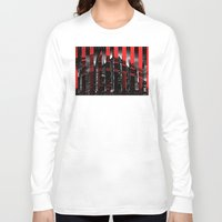 milan Long Sleeve T-shirts featuring Milan by James Campbell Taylor