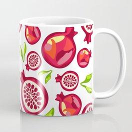 juicy pomegranate pattern Coffee Mug