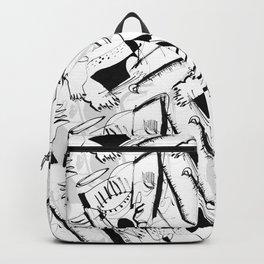 Guardian Angel - b&w Backpack