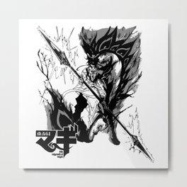 Hakuryuu Ren Djinn Equip zagan 1 Metal Print