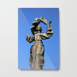 Statue of Independence Metal Print