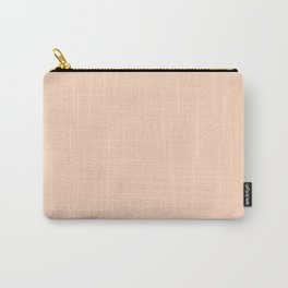 Peachpuff Pastel Carry-All Pouch