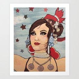 Rachel Brice Art Print