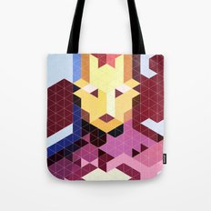 Geometric Ironman Tote Bag