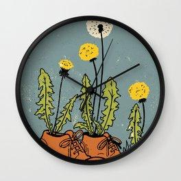 Dandy Shoes Wall Clock