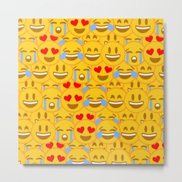 Emojis Metal Print