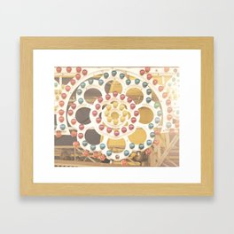 Carnival Lights Framed Art Print