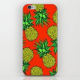 Pineapple Madness iPhone Skin