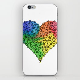 Love Connection iPhone Skin