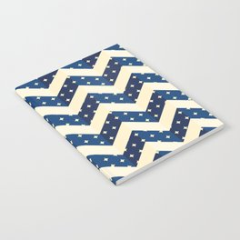 Chevron blue Notebook