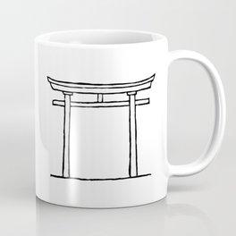 Torii door Coffee Mug