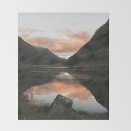 Time Is Precious - Landscape Photography Throw Blanket