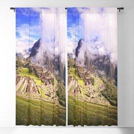 Machu Picchu Incas Lost City Blackout Curtain