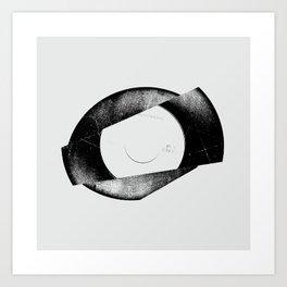 Vinyl 5 Art Print