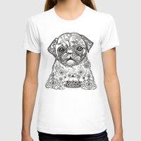 persian T-shirts featuring Persian Pug by Huebucket